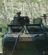 French military patrolling near Sirobi