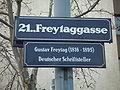 Freytaggasse.GustavFreytag1816-1895.Floridsdorf.A.JPG