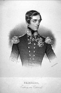 Archduke Friedrich of Austria (1821–1847) Austrian Archduke and admiral