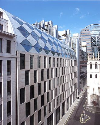 Friends Provident - Friends Provident was located at 100 Wood Street, London, EC2V 7AN