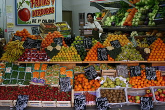 Greengrocer - Greengrocer's shop in Buenos Aires.