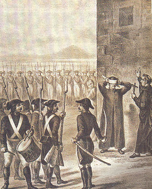 Battle of Lomas de Santa María - Execution of Matamoros.