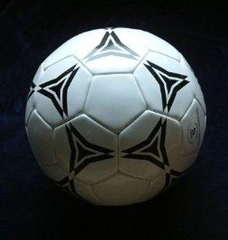Buckminsterfullerene - Many soccer balls have the same arrangement of polygons as buckminsterfullerene, C60.