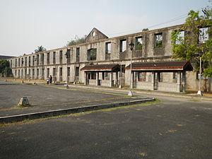 Cuartel de Santa Lucia - Cuartel de Santa Lucia in Intramuros