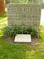 Göttingen Stadtfriedhof Grab Felix Klein.jpg