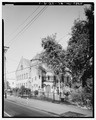 GENERAL VIEW, FROM SOUTHWEST - Circular Congregational Church, 138-150 Meeting Street, Charleston, Charleston County, SC HABS SC,10-CHAR,91-1.tif