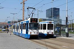omleiding tram 16 amsterdam