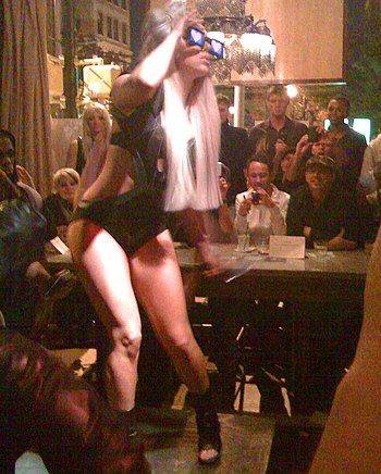 Gaga at bazaar