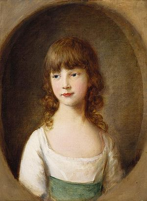 Princess Mary, Duchess of Gloucester and Edinburgh - Princess Mary aged six.