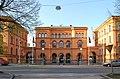 Gamla Försvarshögskolan Valhallavägen Stockholm 20060509.jpg