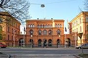 Gamla Försvarshögskolan Valhallavägen Stockholm 20060509