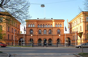 Swedish Defence University - Previous building of the Swedish National Defence College