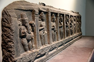 Guardians of the directions - Ganesha and the eight Dikpalas, currently housed in the British Museum
