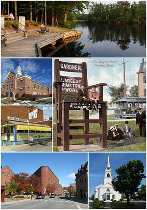 Gardner, Massachusetts - Image: Gardner, Massachusetts collage