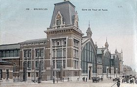 Image illustrative de l'article Gare de Bruxelles-Tour & Taxis