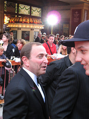 NHL Commisioner Gary Bettman in 2007.