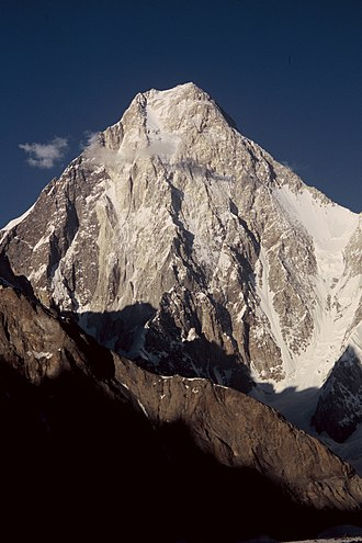 Gasherbrum IV - Gasherbrum IV from Baltoro Glacier