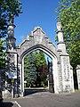 Gate entrance, Hollybrook Cemetery - geograph.org.uk - 868993.jpg