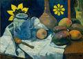 Gauguin La théière et les fruits.jpg