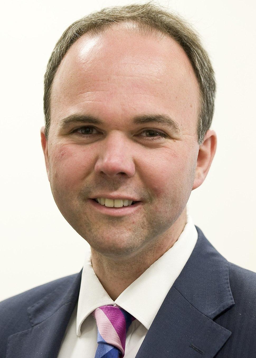 Portrait of Gavin Barwell in 2015