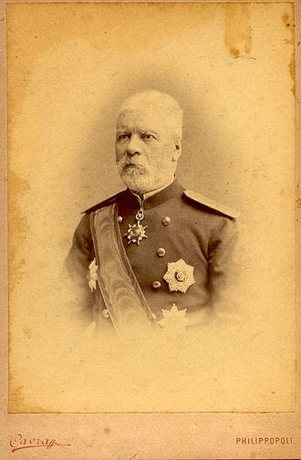 Eastern Rumelia - Image: Gavril Krastevich General Governor 2