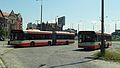 Gdańsk Śródmieście autobusy miejskie Solaris.JPG