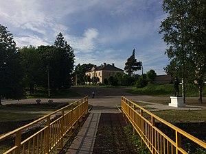 Gdov - A square in Gdov