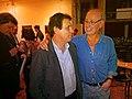 Geógrafo Urbanista Jordi Borja y Arquitecto Jorge Rocchi. Conferencia Espacio Público y Ciudadanía. SCA. Ciudad Autónoma de Buenos Aires. 12.11.2013.jpg