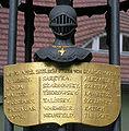 Gedenktafel Reformationsplatz (Span) Gefallene der Befreiungskriege 1813–1815 (1816) 2.jpg