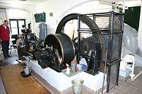 19th century Dutch diesel pump in Rijswijk, Netherlands