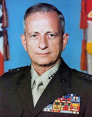 Robert H. Barrow - 27th Commandant of the Marine Corps (1979–1983)