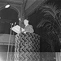Generaal Kruls houdt een toespraak in de zaal van de Haagse Dierentuin, Bestanddeelnr 900-9782.jpg