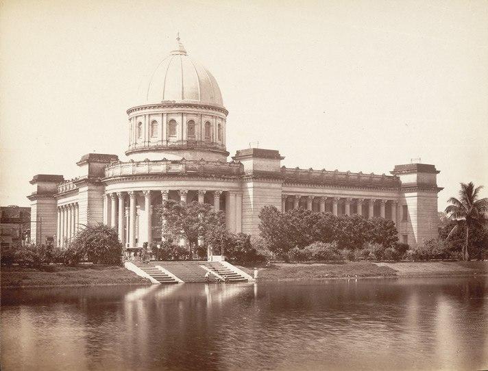 General Post Office (GPO), Calcutta (c. 1880s)