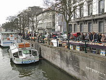 Book market in Ghent