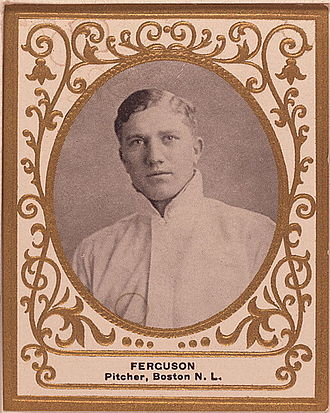 George Jackson (baseball) - Jackson was sold to the Boston Rustlers during the 1911 season in exchange for George Ferguson (pictured), and cash considerations.
