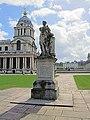 George II Statue, Old Royal Naval College, Greenwich.jpg