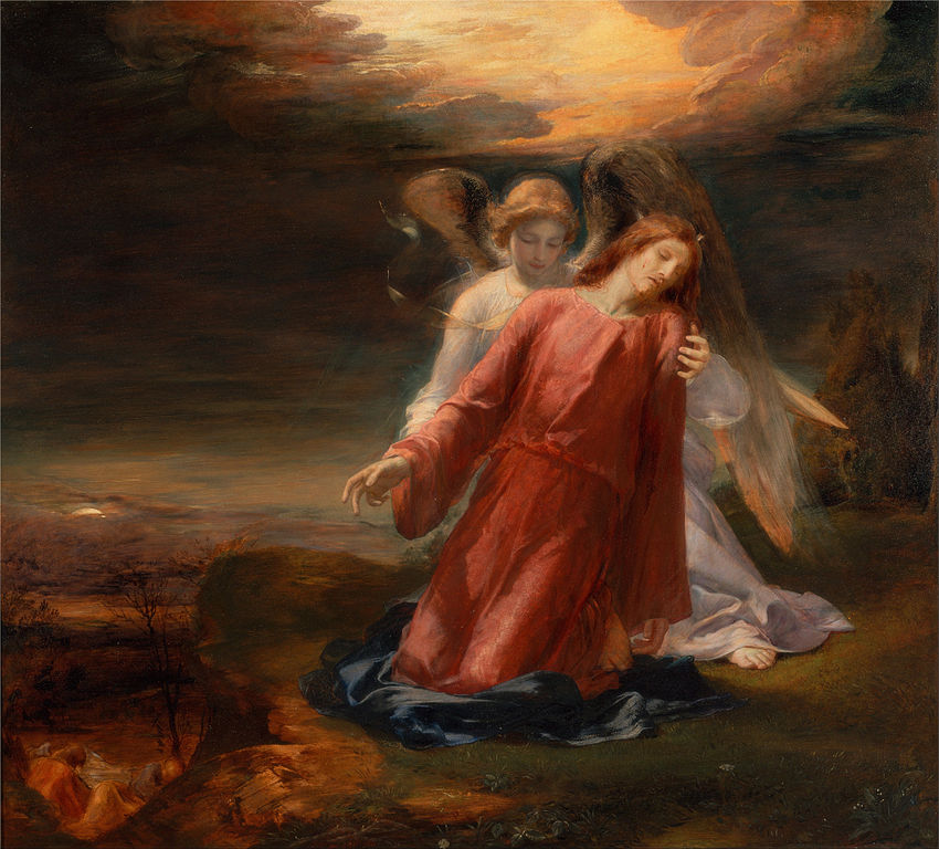 File:George Richmond - The Agony in the Garden - Google ...
