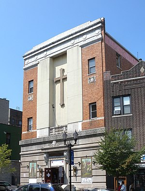 St. George & St. Shenouda Coptic Orthodox Church (Jersey City, New Jersey) - Image: George n Shenouda Church JC sunny jeh