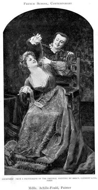 Georges Achille-Fould - Image: Georges Achille Fould Courtship