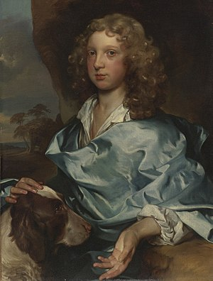 Earl of Shaftesbury - Portrait by Gerard Soest of a member of the Ashley-Cooper family