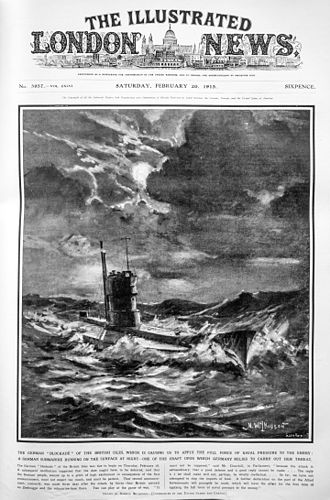 The Illustrated London News - Cover of 20 February 1915 issue