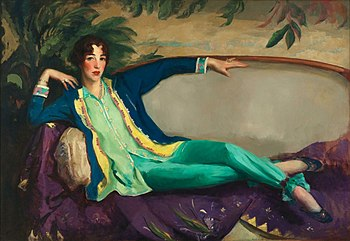 English: Gertrude Vanderbilt Whitney, 1916, by...