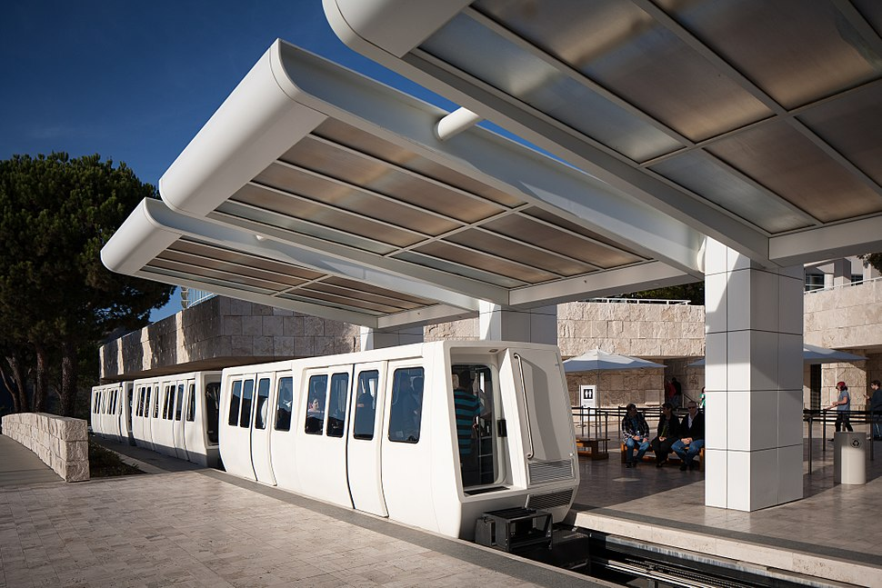 Getty Center Tram Station Los Angeles
