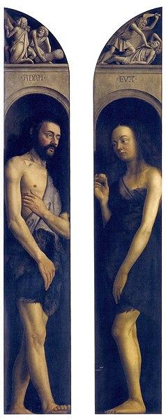 File:Ghent Altarpiece A - Adam and Eve dressed.jpg