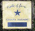 Gianna Nannini auf dem Walk of fame im Kurpark von Bad Krozingen.jpg