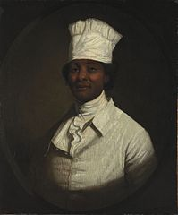 Portrait of George Washington's Cook