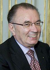 Giorgio Squinzi, patron del Sassuolo dal 2002. L'industriale era già stato sponsor del club neroverde (tramite la Mapei) durante gli anni 1980.