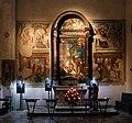 Giovanni e Bernardino da Asola, pala di san giuseppe, xvi secolo, 01.jpg