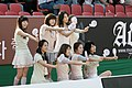 Girls' Generation at the 2008 beach volleyball competition in Jamsil 2.jpg