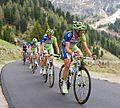 Giro d'Italia 2012, 063 pampeago liquigas trein (17600532799).jpg